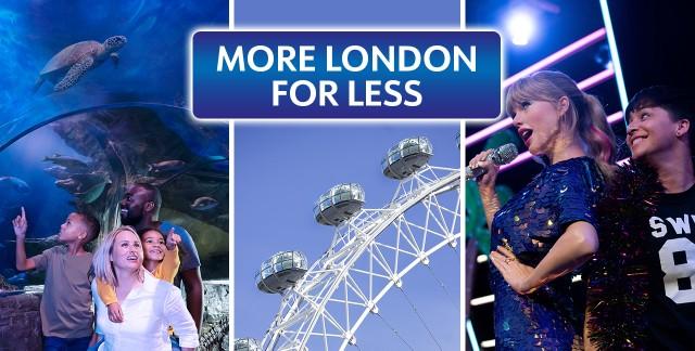 London: Madame Tussauds, London Eye & SEA LIFE Combo Ticket