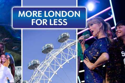 London: Madame Tussauds, London Eye & SEA LIFE Combo Ticket