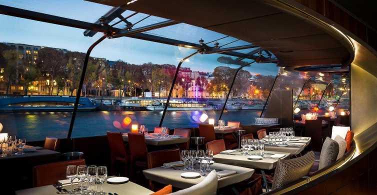 Eiffeltårnet: Valgfri toppmøte og middagscruise
