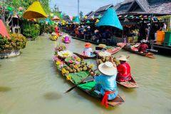 Pattaya: Ingresso para o mercado flutuante