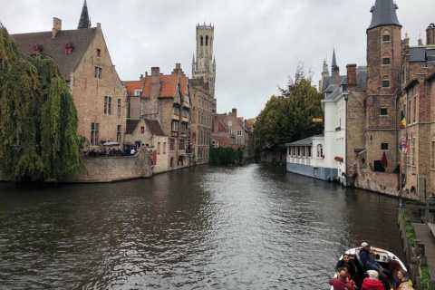 From Amsterdam: Private Sightseeing Tour to Bruges
