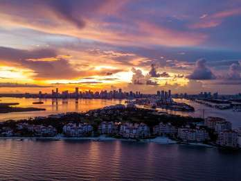 Miami: Private Sunset Sightseeing-Flugzeugtour