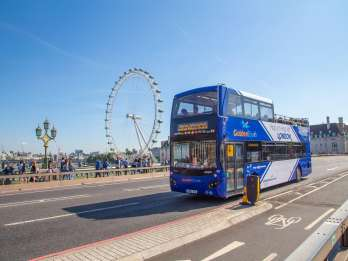 London: Hop-On/Hop-Off-Tour im Open-Top-Bus