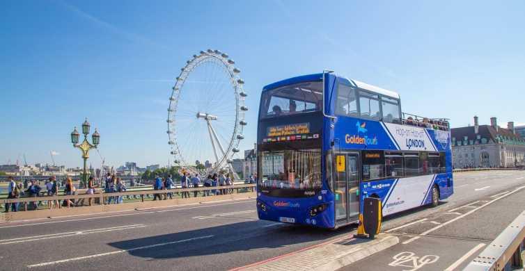 Londres : visite en bus à impériale à arrêts multiples