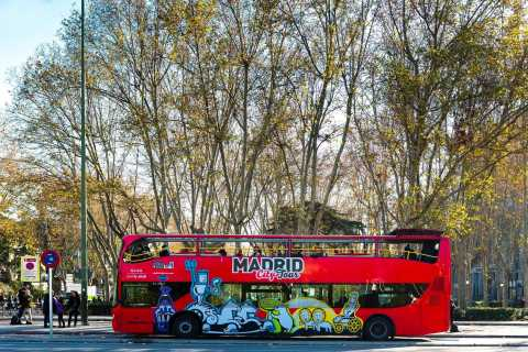 Madrid: Hop-On Hop-Off Bus & Santiago Bernabéu Stadium Tour