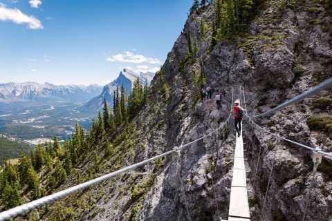 Banff: Mount Norquay 2.5 or 4-Hour Guided Via Ferrata Climb
