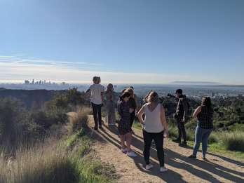 Los Angeles: Wanderung zum Hollywood-Zeichen