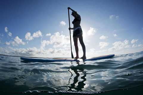 Jeffreys Bay: Stand Up Paddle Boarding