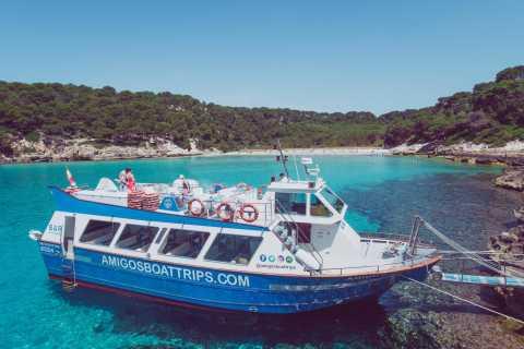 Cala'n Bosc: viaje en barco turístico de 3,5 horas por la costa sur