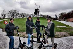 Bruges: Excursão de Ecotáxi com Guia Particular