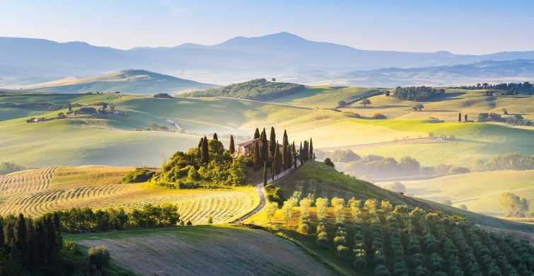 Florence: Val d'Orcia Private Chauffeur-Driven Tour