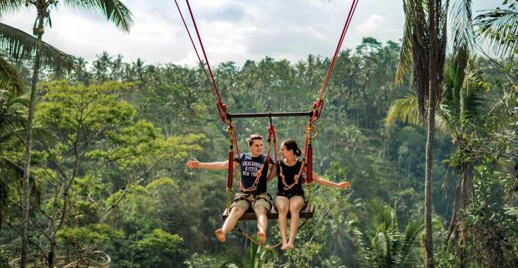 Ubud: Jungle Swing Private Tour