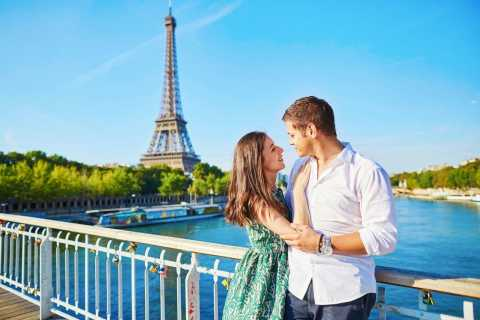 Paris: Romantisk Seine River Cruise & Moulin Rouge Show