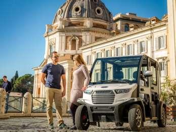 Rom: Private Highlights Tour mit dem Golfwagen