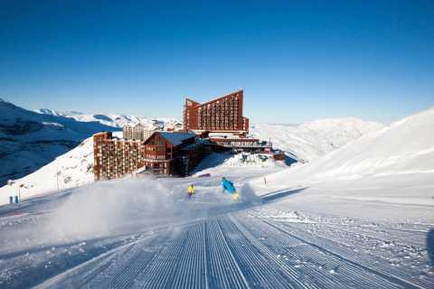 Santiago: Excursão de um dia ao centro de esqui de Valle Nevado e Farellones