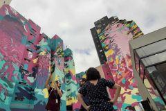 São Paulo: Excursão a pé de grafite fora de caminho de 2 horas