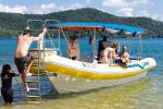 Paraty: Fast Boat Expedition to Saco do Mamangua
