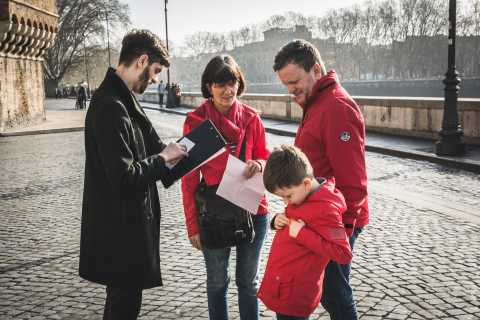 Roma: secretos bajo la visita guiada de Castel Sant'Angelo