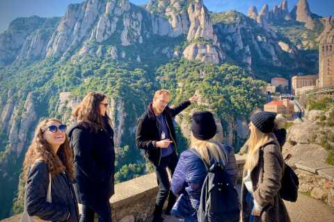 From Barcelona: Montserrat Tour with Guide