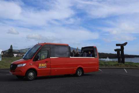 From Ponta Delgada: São Roque-Praia do Pópulo Minibus Tour
