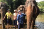Ethical Elephant Caretaker & Doi Suthep Temple Private Tour