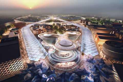 Dubái: recorrido turístico nocturno por la Expo 2020