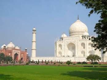Von New Dehli: Taj Mahal bei der Sunrise & Agra Highlights Tour