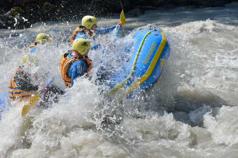 Imster Schlucht: White-Water Rafting in the Tyrolean Alps