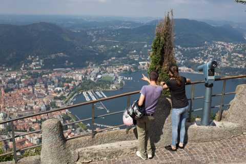 Lake Como: Easy Mountain Trek with Funicular & Boat Ride