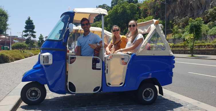 Funchal: Guided City Tuk-Tuk Tour