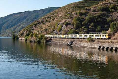 Régua e Vale do Douro de Trem e Barco Saindo do Porto