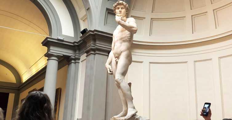 Florencia: recorrido por grupos pequeños de la Galería de la Academia y la estatua de David