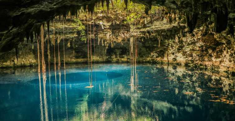 Bike, Swim, Stroll: Cenotillo, Cenote Xooch & Izamal Tour