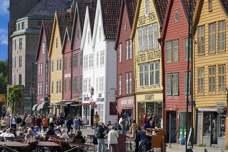 Bergen: Geführter privater Landausflug