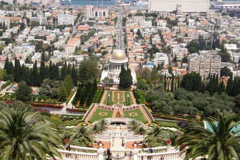 Caesarea, Haifa, and Rosh Hanikra Private Full-Day Tour