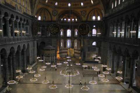 Istanbul: Hagia Sophia Museum Entry Ticket & Guided Tour