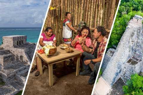 Tulum and Coba: Full-Day Maya Village Tour