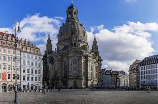 Aus Prag: Geführter Dresdner Tagesausflug mit Mittagessen
