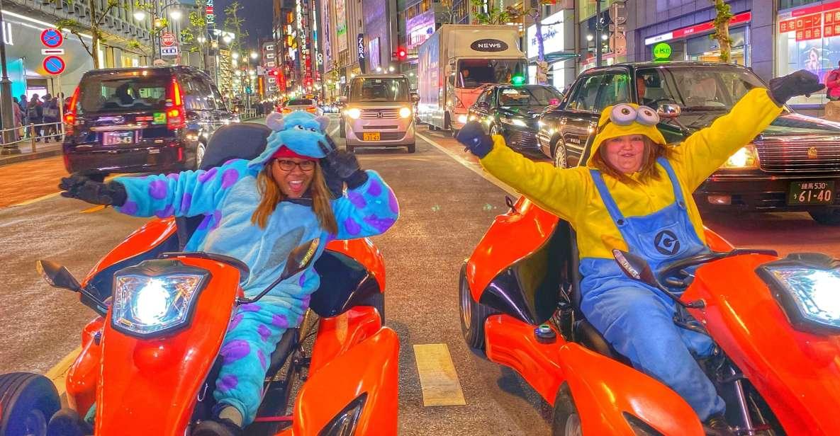 Tokyo: Go-Kart Tour and Photoshoot
