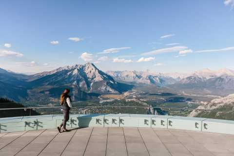 Banff: Sightseeing, Lake Minnewanka Cruise, & Banff Gondola
