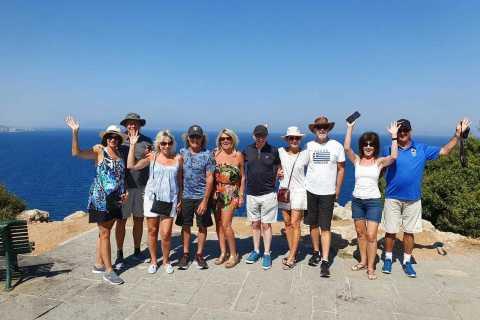 Città di Rodi e Lindos: tour privato in minibus