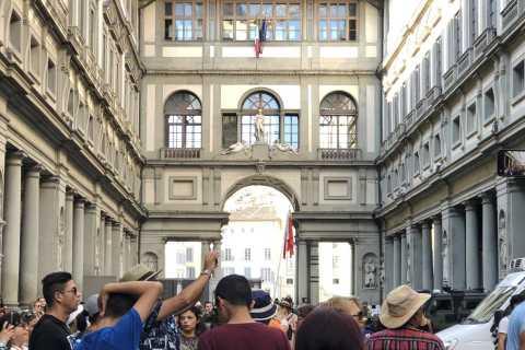 Florencia: recorrido a pie por la ciudad y recorrido por la galería de los Uffizi