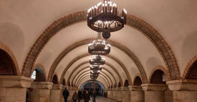 Kiev: Excursão Guiada Privada de 2 Horas às Estações de Metrô