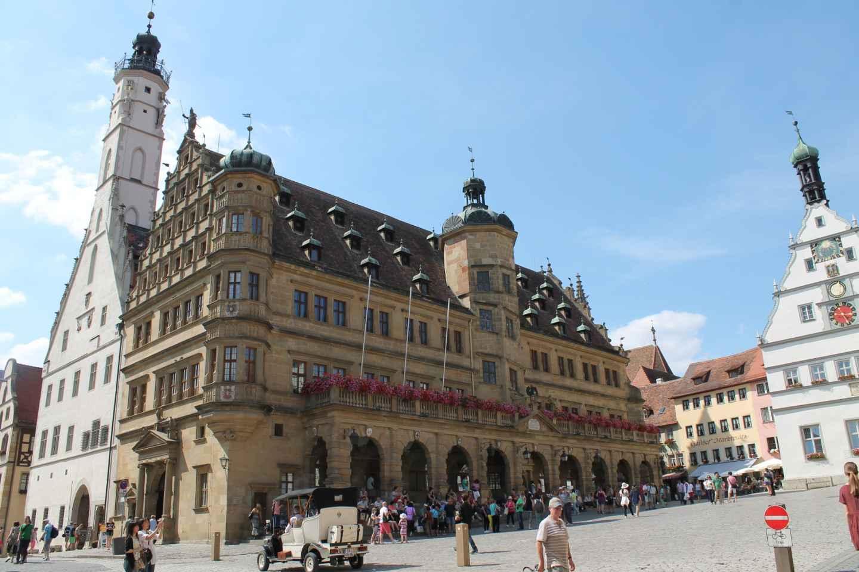 Aus Nürnberg: Tagestour Rothenburg ob der Tauber auf Spanisch