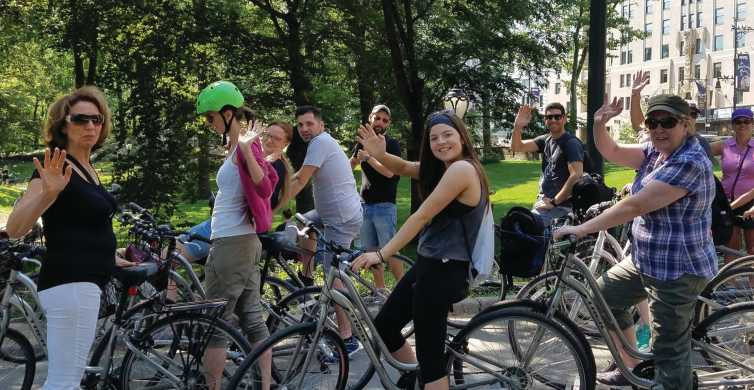 Central Park: Live Guided Bike Tour