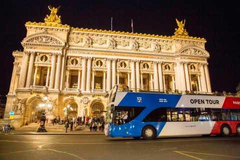 Parijs: busrondleiding met open bus
