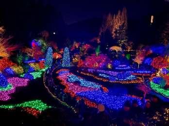 Vancouver: Victoria & Buchart Gardens Weihnachtsbeleuchtungstour