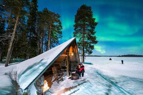 Rovaniemi: Northern Lights Photography Tour & BBQ