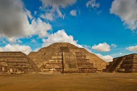 Depuis Mexico: Teotihuacan et Notre-Dame de Guadalupe