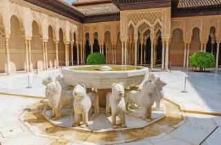 Alhambra: Komplettes Ticket mit Audioguide